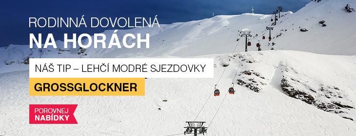 Lyžařské středisko Grossglockner - tip pro rodiny s dětmi