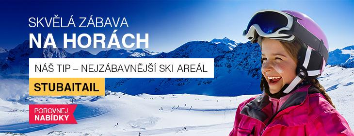 Lyžařské středisko Stubaitail - lyžování nejen na ledovci