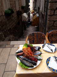 Ochutnejte místní chorvatské speciality