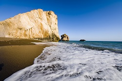Kypr - pláž