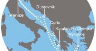 Hotel Costa Luminosa - Itálie, Řecko, Chorvatsko