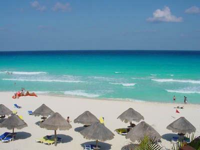 Relax na plážích Cancunu