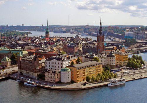 Stockholm - letecký eurovíkend