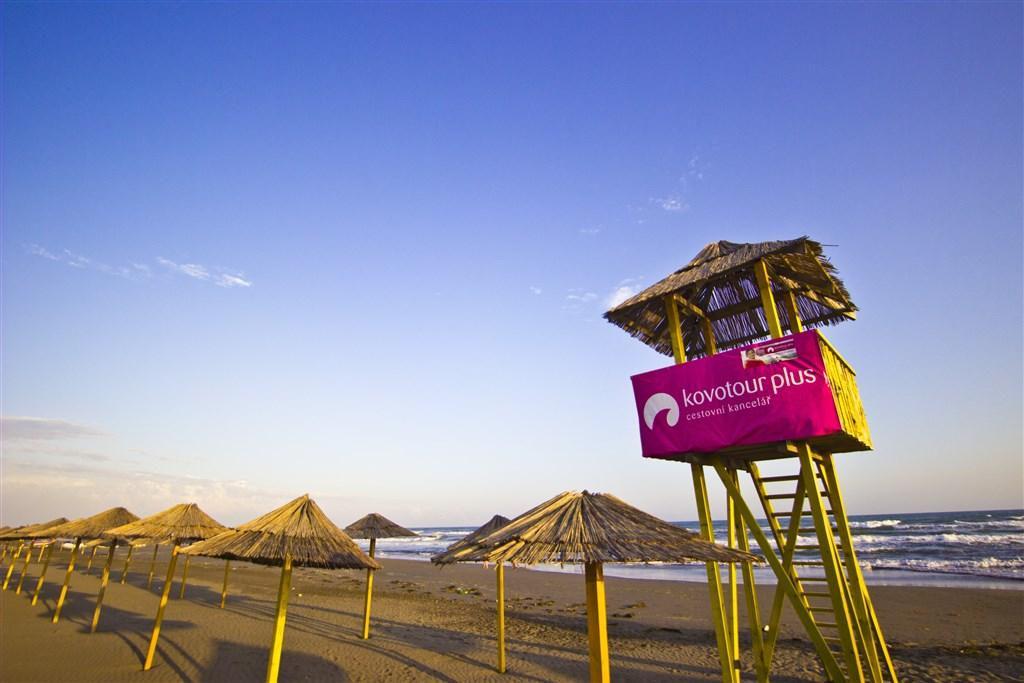 Hotel Ulcinj Velká pláž - Dotované pobyty 50+ - letecky