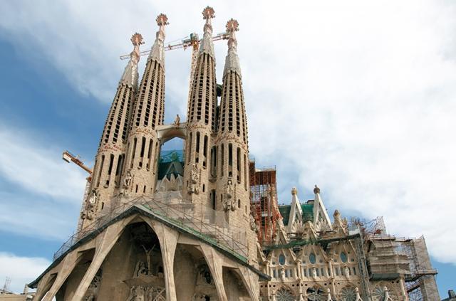 Fly and sleep - Barcelona - Sagrada Familia Snídaně