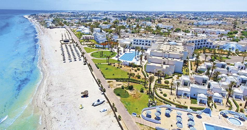 Aljazira Beach - Na pláži