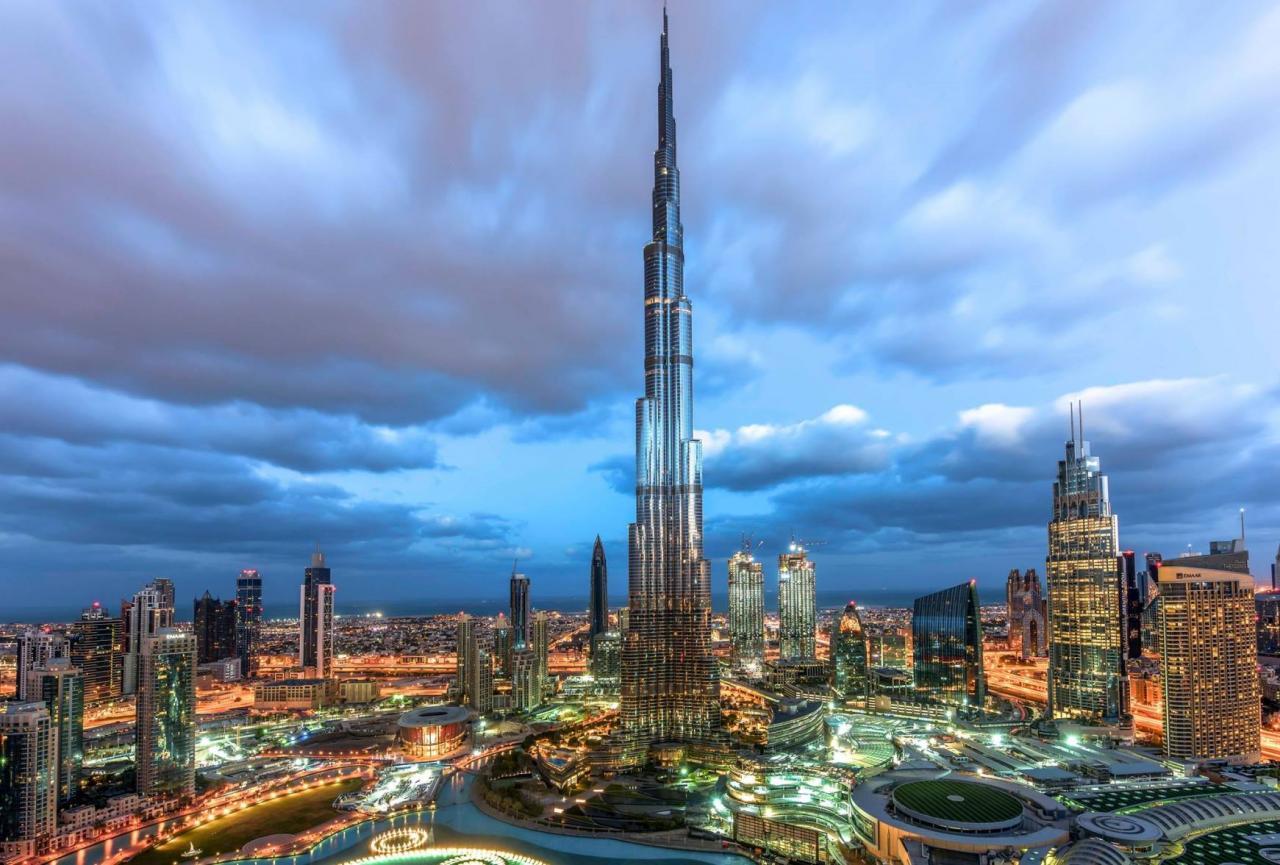 Zážitky z Dubaje s možností koupání - akce senior 50
