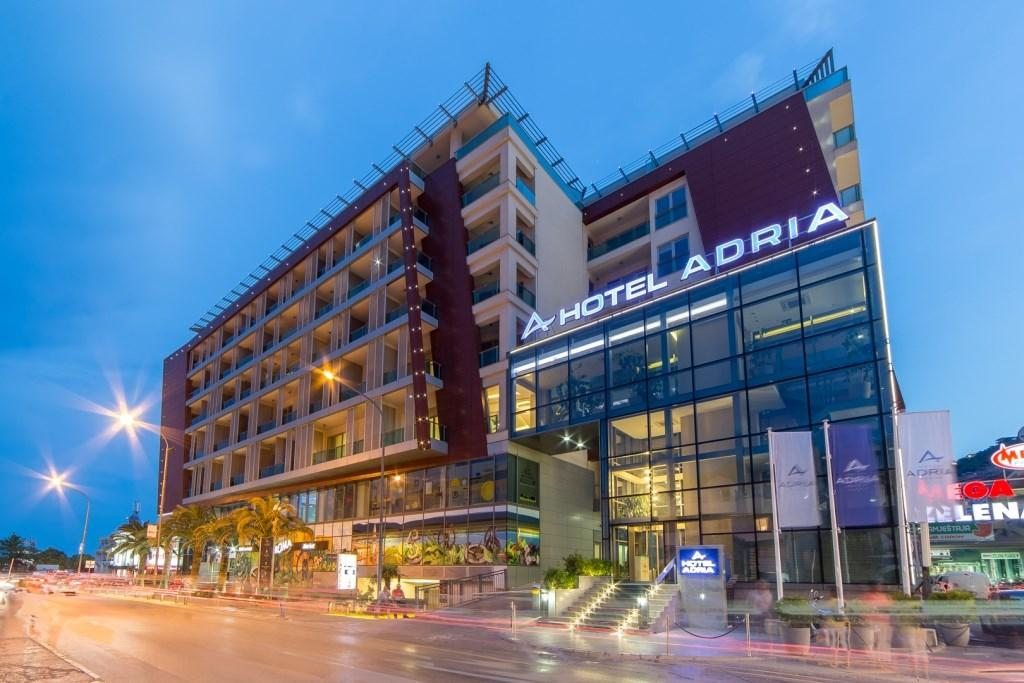 Hotel Adria - letecky z brna