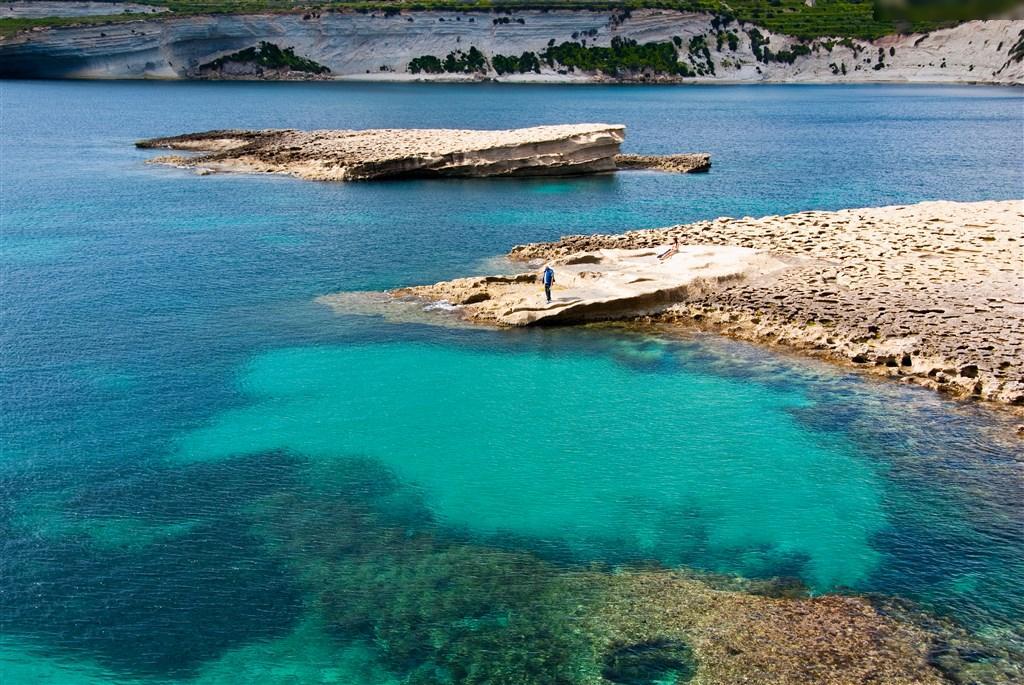 Nejhezčí místa Malty - Hotel Qawra Palace