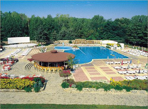 Park Hotel Continental - Bulharsko letecky z Prahy