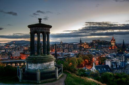 Hotel Holiday Inn 4*, Edinburgh - letecky