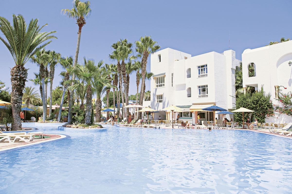 Hotel Nesrine   - Tunisko v květnu - levně