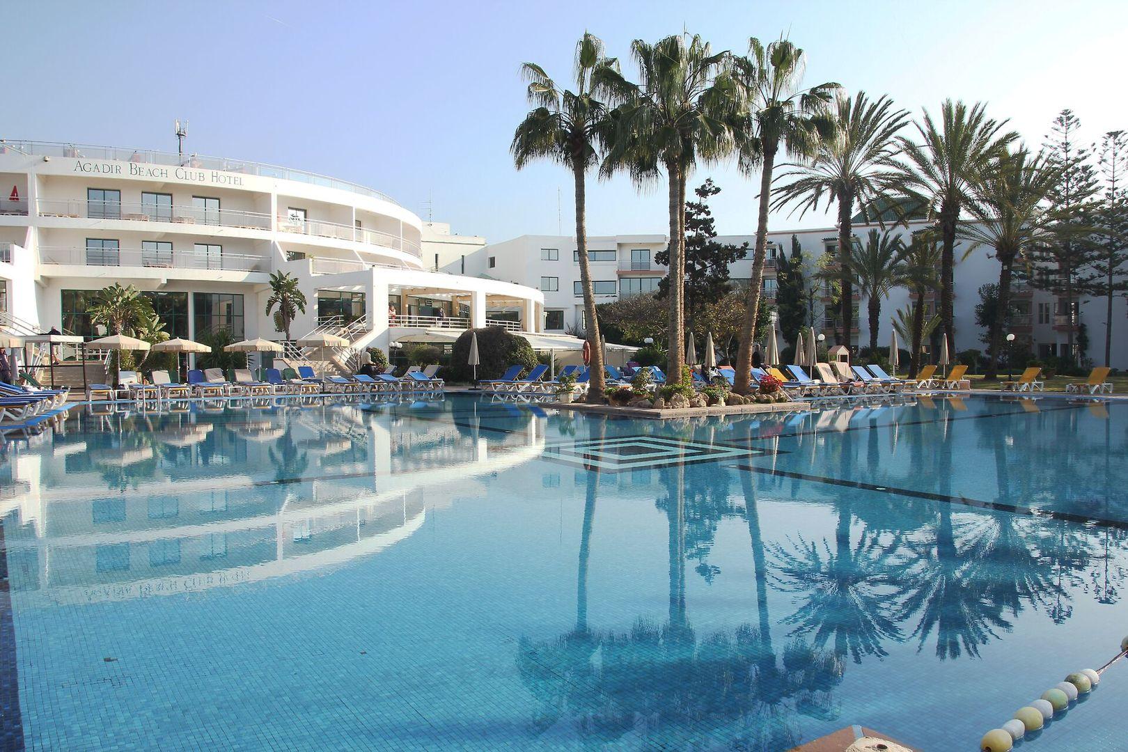 Hotel LTI Agadir Beach Club - Na pláži