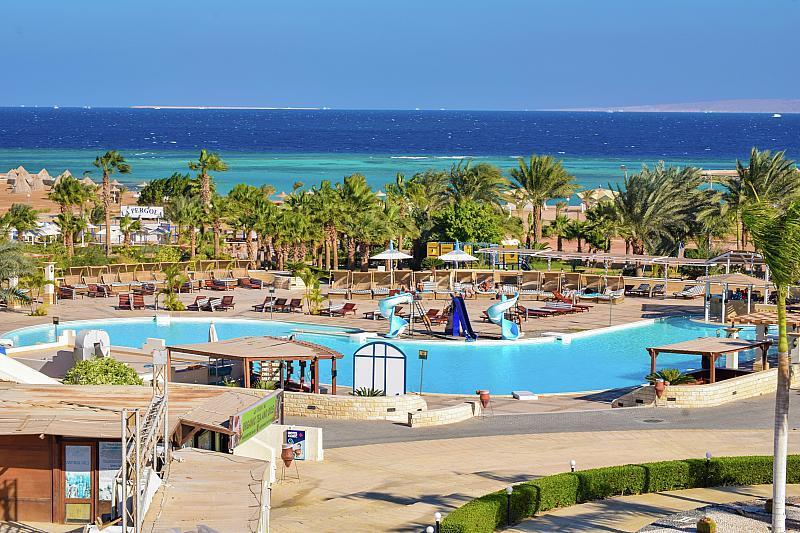 Coral Beach Hurghada - luxusní dovolená