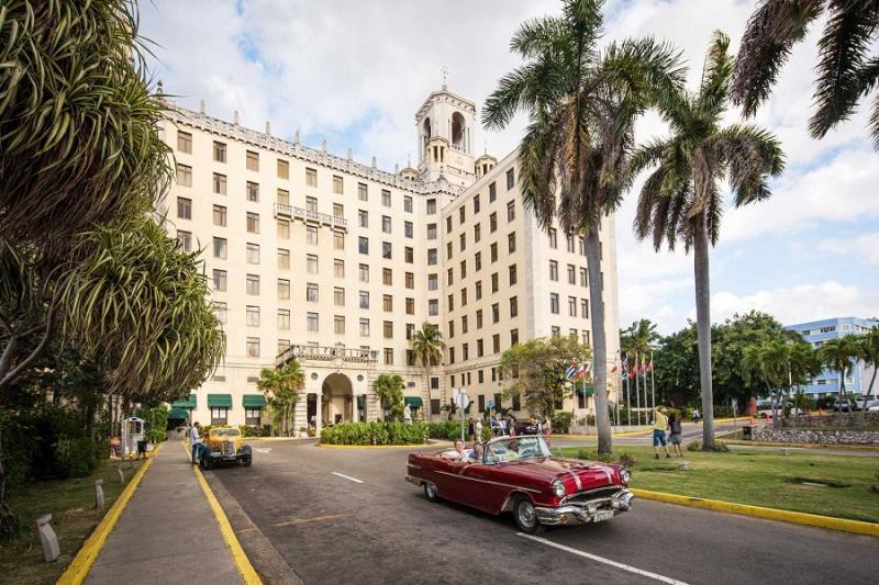 Kuba - Cesta do Pravěku - HAVANA - HOTEL NACIONAL  - hotely