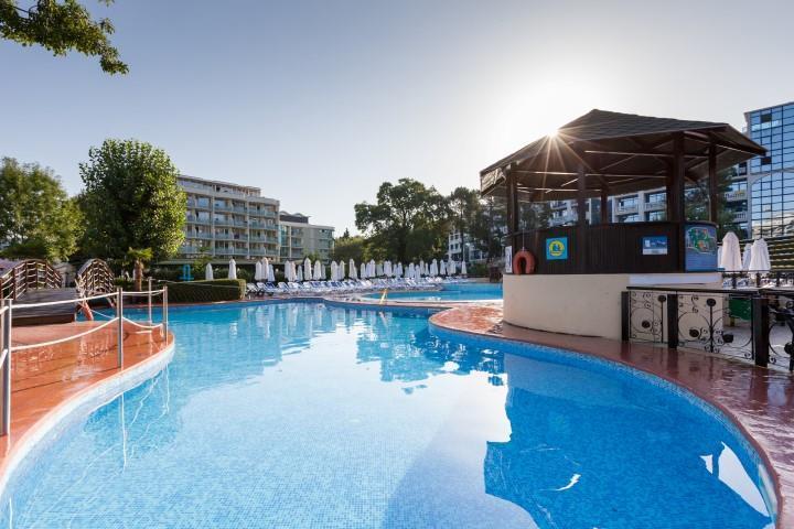 DAS Club Hotel Sunny Beach - na pláži