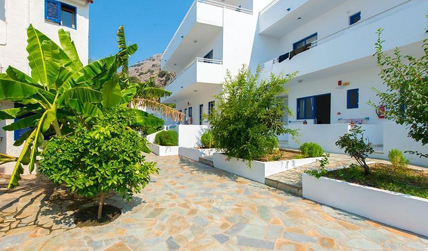 Studia Palm Bay - Řecko  v červenci